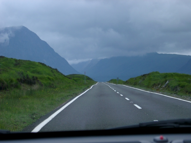 highland roads
